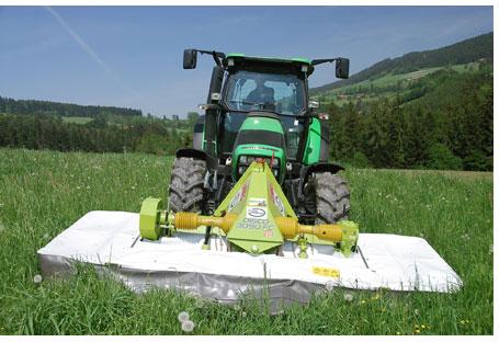 Traktor-Grasschneiden
