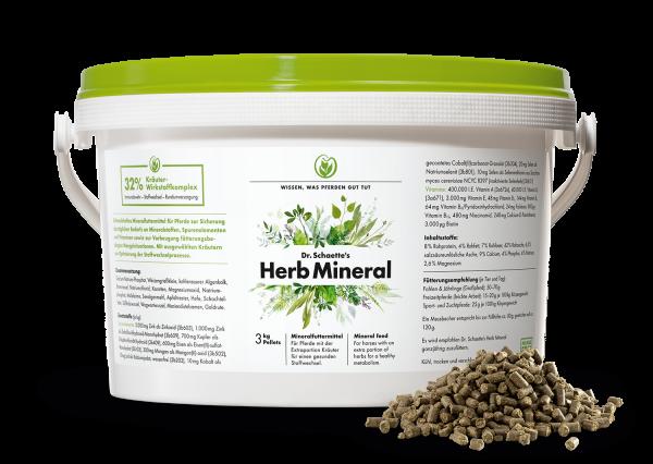 Dr. Schaette´s Herb Mineral Pellets 3kg