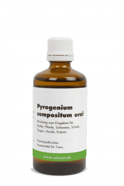 Pyrogenium compositum inject - Flasche 100 ml