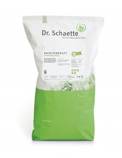 Kräuterkraft Stoffwechsel 3kg Pellets Sack