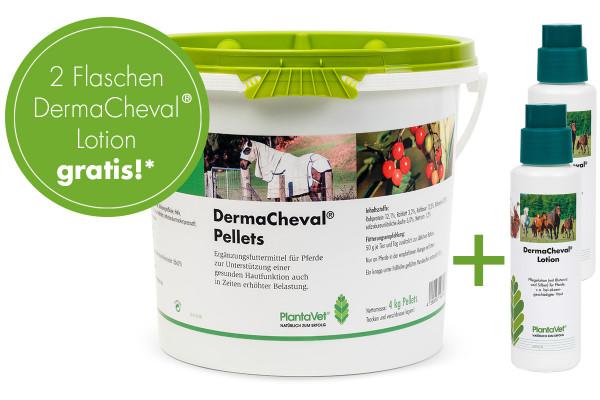 Aktion DermaCheval® - 1 x Pellets mit 2 x Lotion gratis