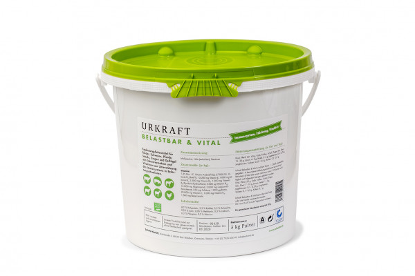 Urkraft Belastbar & Vital 3 kg Eimer